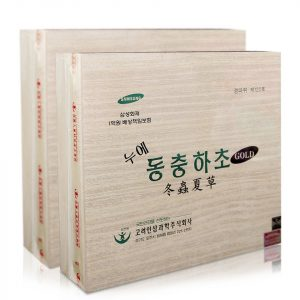 Sản phẩm đông trùng hạ thảo đóng hộp sang trọng